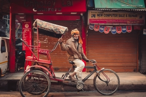 Cycle Rickshaw Man