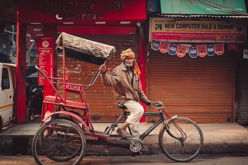 Cycle Rickshaw Man