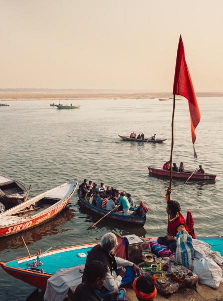 Ganges Boat Trip