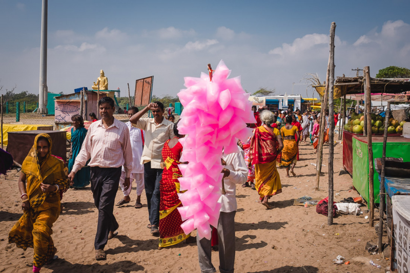 Mahabalipuran Candy Floss