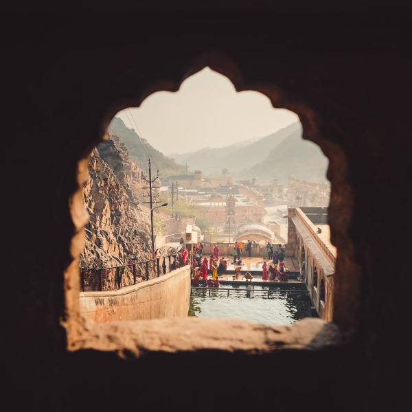 Temple Bathing