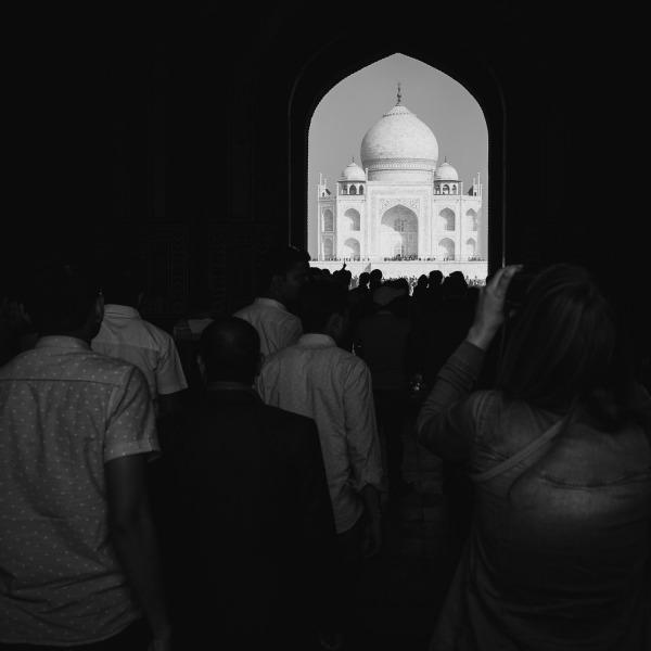 Viewing the Taj