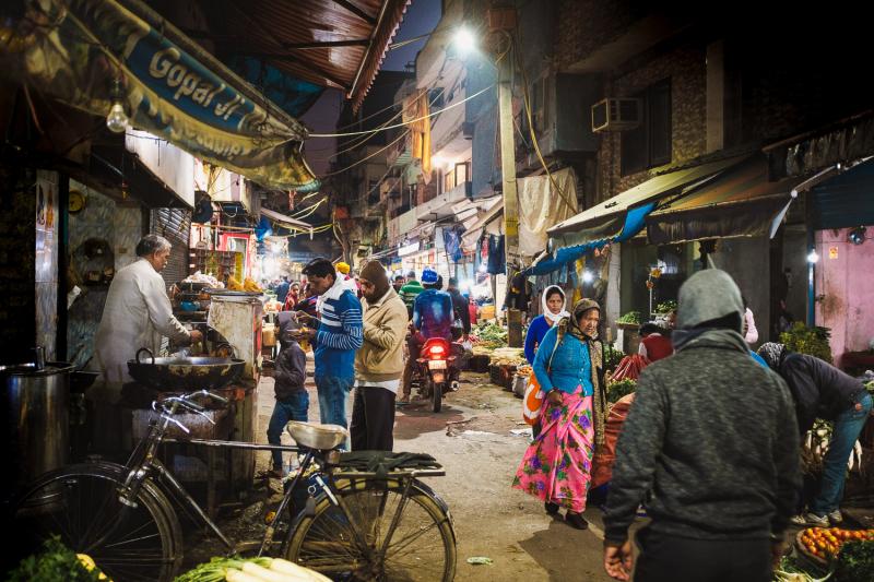 Delhi Night Market
