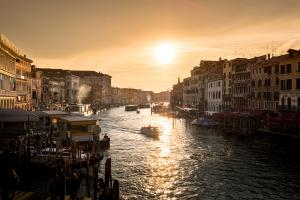 Winter Sun Venice