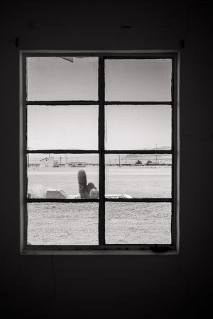 Motel Window