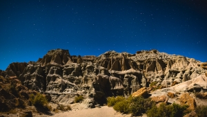 Red Rock Canyon Night